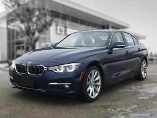 Used 2017 BMW 3 Series 320i xDrive Accident Free! Low Mileage! for sale in Winnipeg, MB