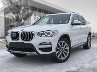 Used 2018 BMW X3 xDrive30i ENHANCED! ACCIDENT FREE! EXECUTIVE INTERIOR! for sale in Winnipeg, MB