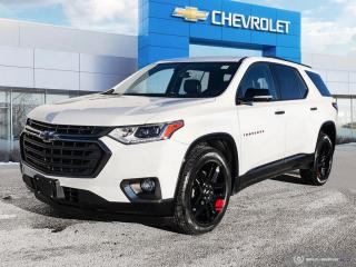 Used 2018 Chevrolet Traverse Premier AWD | Leather | Sunroof | Navigation for sale in Winnipeg, MB
