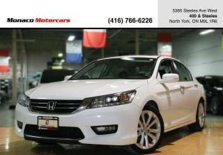 Used 2015 Honda Accord TOURING - LEATHER|NAVI|BACKUP|SUNROOF|FCW|LDW for sale in North York, ON