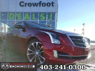 Used 2015 Cadillac ATS 3.6L PREMIUM AUTOMATIC AWD for sale in Calgary, AB