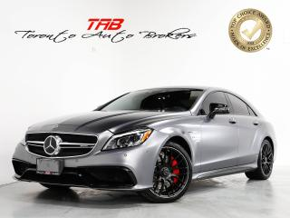Used 2017 Mercedes-Benz CLS-Class CLS63 S AMG I CARBON FIBRE I NAV I 1-OWNER for sale in Vaughan, ON
