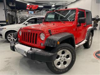 Used 2014 Jeep Wrangler SAHARA I NAVI I LEATHER I COMING SOON for sale in Vaughan, ON