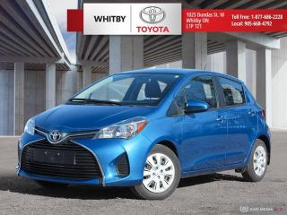 Used 2016 Toyota Yaris LE for sale in Whitby, ON