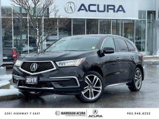 Used 2017 Acura MDX NAVI for sale in Markham, ON