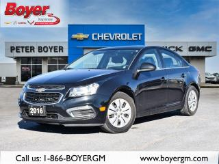 Used 2016 Chevrolet Cruze LT LT for sale in Napanee, ON