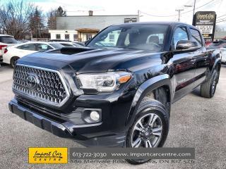Used 2018 Toyota Tacoma SR5 TRD SPORT  ALLOYS  NAVI  HTD SEATS  BACKUP CAM for sale in Ottawa, ON