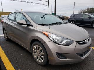 Used 2013 Hyundai Elantra GL for sale in Fredericton, NB