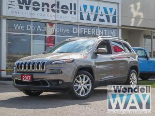 Used 2017 Jeep Cherokee Limited V6 Nav for sale in Kitchener, ON