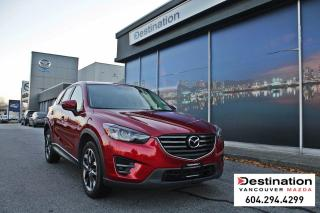 Used 2016 Mazda CX-5 GT - fully loaded with 24-hour roadside assistance for sale in Vancouver, BC