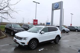 Used 2018 Volkswagen Tiguan 2.0L TSI Comfortline 4MOTION for sale in Whitby, ON