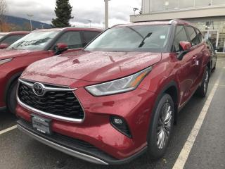 New 2021 Toyota Highlander LIMITED  for sale in North Vancouver, BC