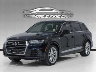 Used 2017 Audi Q7 quattro 3.0T Technik S Line, Navigation, 360 Camera, Loaded for sale in Concord, ON