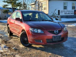 Used 2009 Mazda MAZDA3 No Accidents GS 2.0L Sunroof Gas Saver Cruise A/C for sale in Sutton, ON