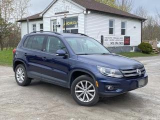 Used 2017 Volkswagen Tiguan 1Owner No Accidents 4MOTION Wolfsburg Carplay Leather Heated for sale in Sutton, ON