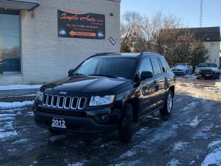 Used 2012 Jeep Compass 4WD Sport, Clean Carfax, North Edition, Winter tires for sale in Barrie, ON