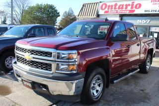 Used 2015 Chevrolet Silverado 1500 4WD Double Cab Power options step Bars for sale in Mississauga, ON