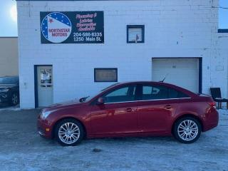Used 2011 Chevrolet Cruze 4dr Sdn Eco w/1SA for sale in Winnipeg, MB