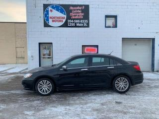 Used 2012 Chrysler 200 4dr Sdn Limited for sale in Winnipeg, MB