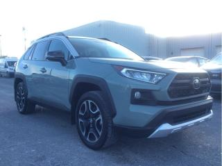 Used 2019 Toyota RAV4 Trail AWD - Local Trade - Power Liftgate - Sunroof for sale in Cornwall, ON