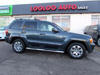 Used 2008 Jeep Grand Cherokee Laredo 3.0L Diesel 4WD Navigation Bluetooth Certified for sale in Milton, ON