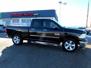 Used 2015 RAM 1500 SLT 4WD Bluetooth Diesel No Accident Certified for sale in Milton, ON