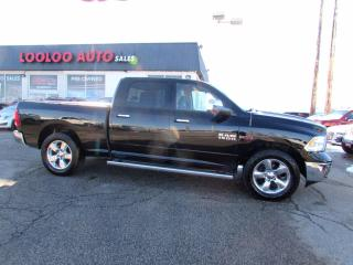 Used 2015 RAM 1500 Big Horn Crew Cab Diesel 4WD Navigation Camera Certified for sale in Milton, ON