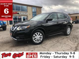 Used 2017 Nissan Rogue S | WOW Kms | B/Up Cam | Bluetooth | Htd Seats | for sale in St Catharines, ON