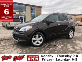 Used 2016 Buick Encore AWD | Remote Start | Bluetooth | B/Up Cam | for sale in St Catharines, ON