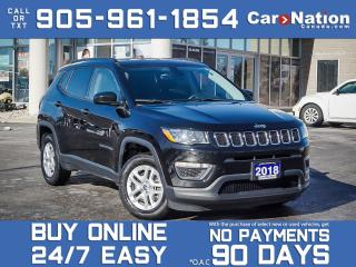 Used 2018 Jeep Compass Sport| ALLOYS | LOCAL TRADE | 1 OWNER | for sale in Burlington, ON