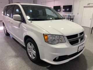 Used 2019 Dodge Grand Caravan Crew #Overhead DVD Player #Heated Leather #Heated Steering Wheel for sale in Brandon, MB