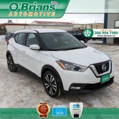 Used 2020 Nissan Kicks SV - Accident Free w/Mfg Warranty, Heated Seats, Backup Camera for sale in Saskatoon, SK