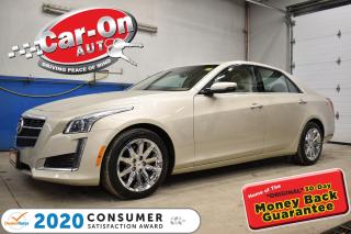 Used 2014 Cadillac CTS 44,000 km AWD 3.6L LUXURY | PANO ROOF | HEATED SEA for sale in Ottawa, ON