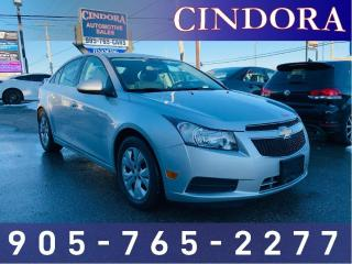 Used 2012 Chevrolet Cruze LT TURBO, AUTO for sale in Caledonia, ON