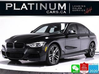 Used 2018 BMW 3 Series 340i xDrive M-PERF II, MANUAL, AWD, NAVI, HEATED for sale in Toronto, ON