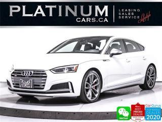 Used 2018 Audi S5 Sportback 3.0T quattro Technik, AWD, S LINE, NAV, CAM for sale in Toronto, ON