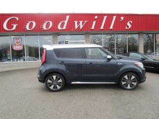 Used 2014 Kia Soul SX PLUS! TWO-TONE BLUE/WHITE! CLEAN CARFAX! for sale in Aylmer, ON