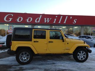 Used 2015 Jeep Wrangler Unlimited SARAHA! HARD SOFT TOP! HEATED LEATHER! NAV! BT! for sale in Aylmer, ON