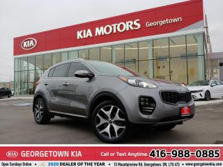 Used 2017 Kia Sportage SX | 1 OWNR | ACCDNT-FREE | NAV | LTHR | PANO ROOF for sale in Georgetown, ON