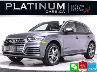Used 2018 Audi Q5 2.0T quattro Technik, AWD, S-LINE, NAV, PANO, CAM for sale in Toronto, ON
