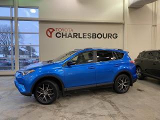 Used 2017 Toyota RAV4 Hybrid SE Hybride - AWD - Intérieur en cuir for sale in Québec, QC