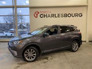 Used 2017 Toyota RAV4 Platinum - AWD - Intérieur en cuir for sale in Québec, QC