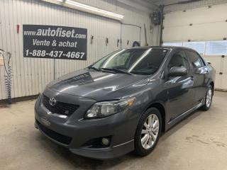 Used 2010 Toyota Corolla 4dr Sdn Auto S for sale in St-Raymond, QC