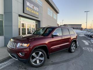 Used 2016 Jeep Grand Cherokee 4WD 4Dr Limited for sale in St-Georges, QC