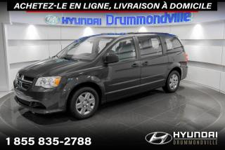 Used 2012 Dodge Grand Caravan SE + GARANTIE + A/C + MAGS + CRUISE + WO for sale in Drummondville, QC