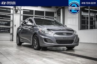 Used 2017 Hyundai Accent GL Chez Rimouski Hyundai for sale in Rimouski, QC