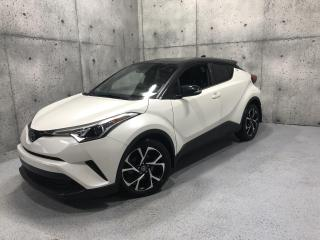 Used 2019 Toyota C-HR Limited CUIR CARPLAY ANDROID SIEGES CHAUFFANT * LINE ASSIST * for sale in St-Nicolas, QC