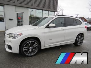 Used 2017 BMW X1 xDrive28i M SPORT MAGS 19 NAVI TOIT PANO 29,000KM for sale in St-Eustache, QC