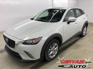 Used 2018 Mazda CX-3 GS GPS MAGS BLUETOOTH CAMÉRA *Bas Kilométrage* for sale in Trois-Rivières, QC