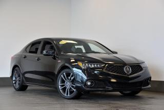 Used 2019 Acura TLX V6 ELITE A-SPEC  AWD + CUIR + GPS + SIÈGES CH for sale in Ste-Julie, QC